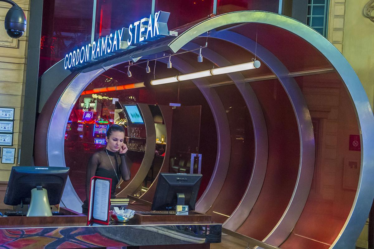 The Gordon Ramsay steakhouse in Las Vegas