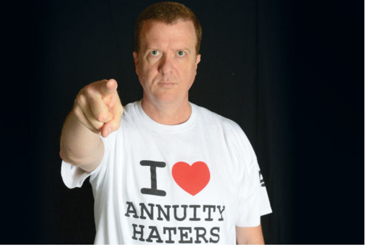 """Stan The Annuity Man is known as """"America's Annuity Agent."""""""