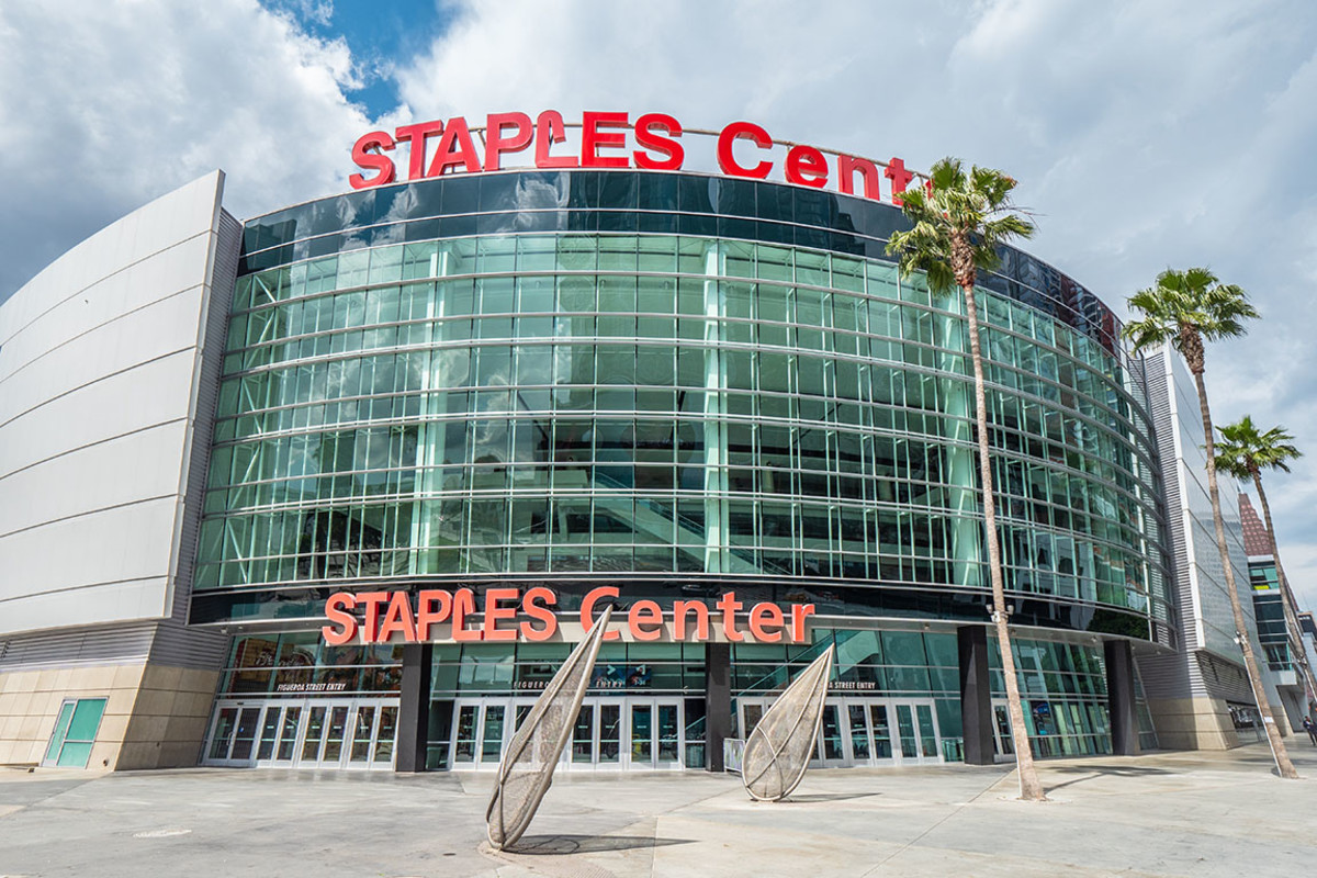 Los Angeles Lakers' Staples Center