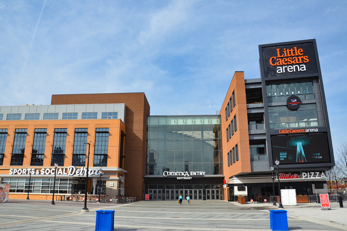 Detroit Pistons - Little Caesers Arena