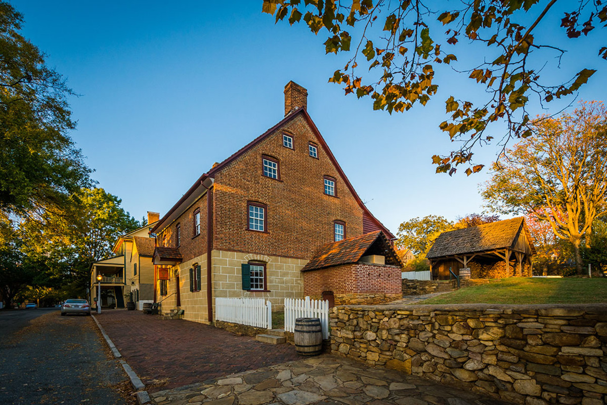 Old Salem Historic District, Winston-Salem, N.C.