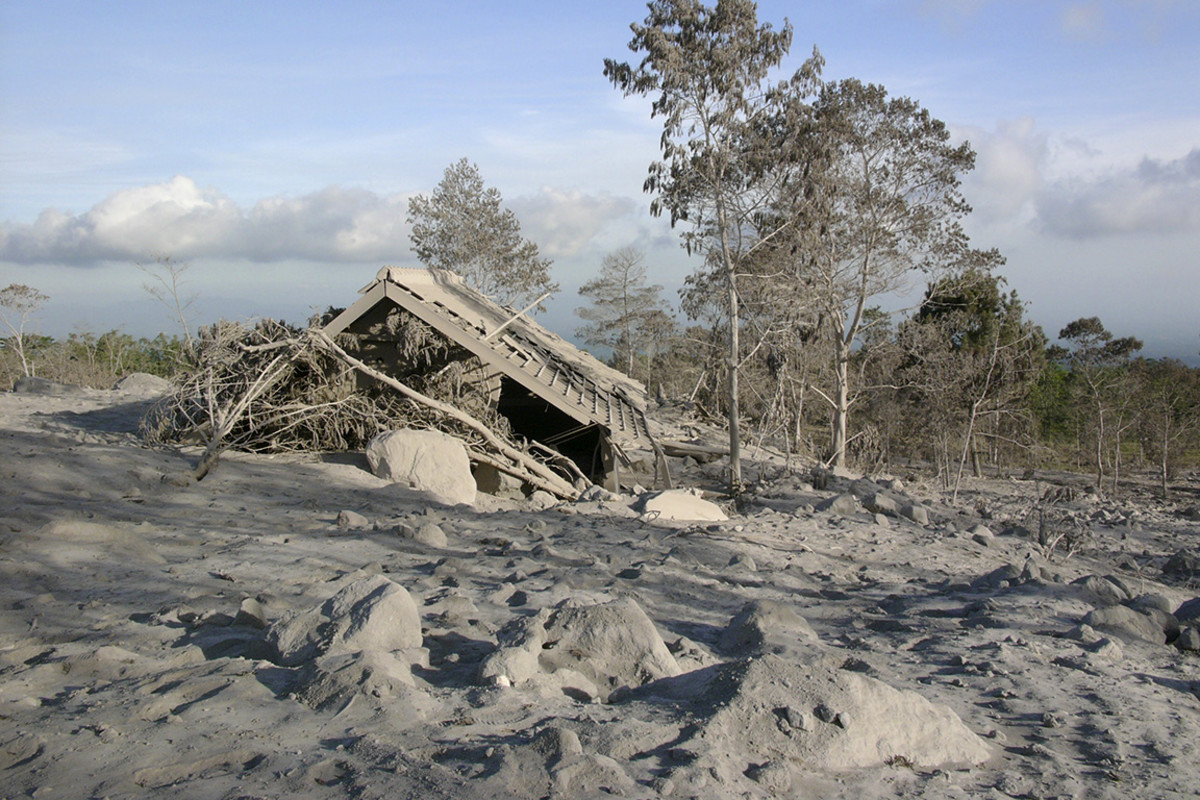 Mount Merapi, 2006