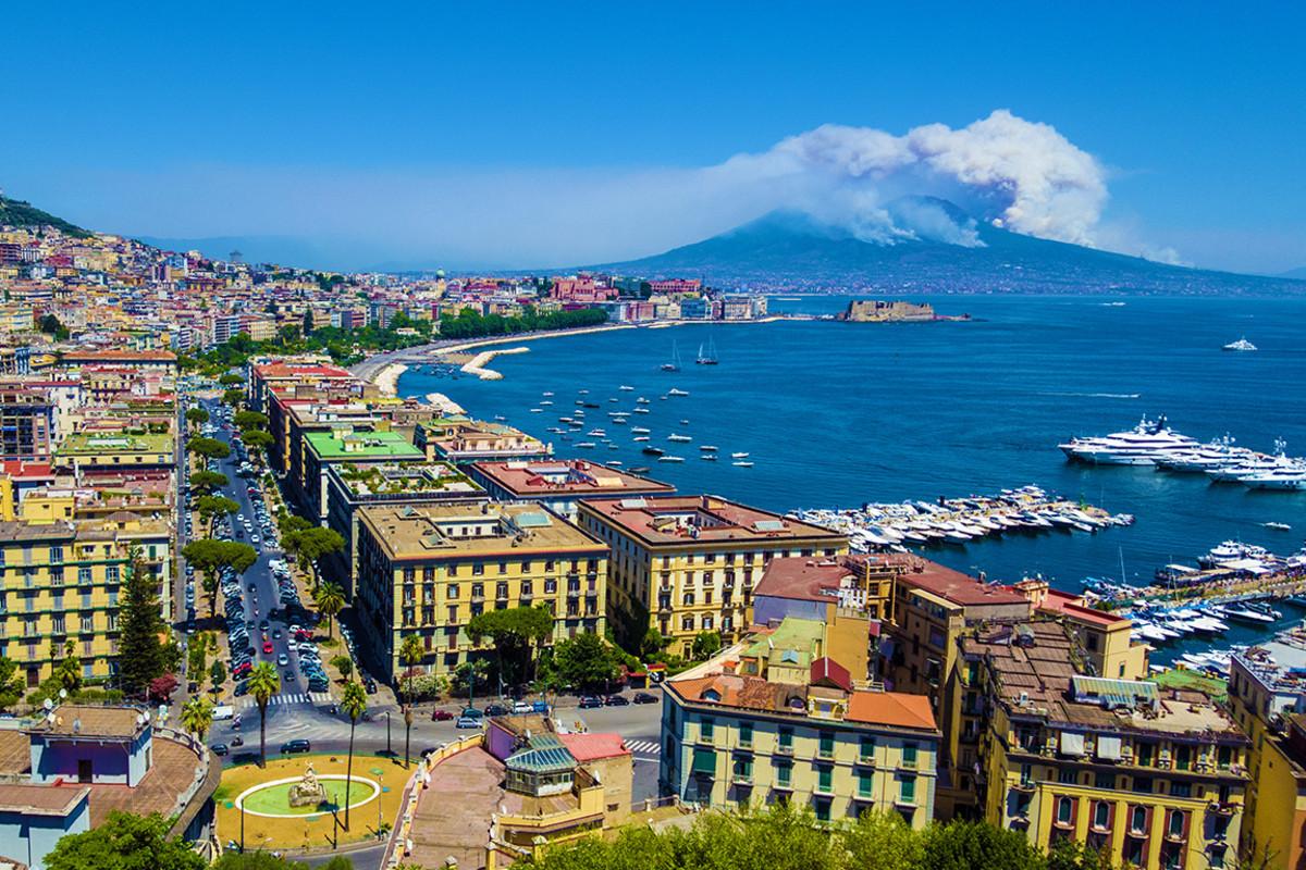Vesuvius—Naples, Italy