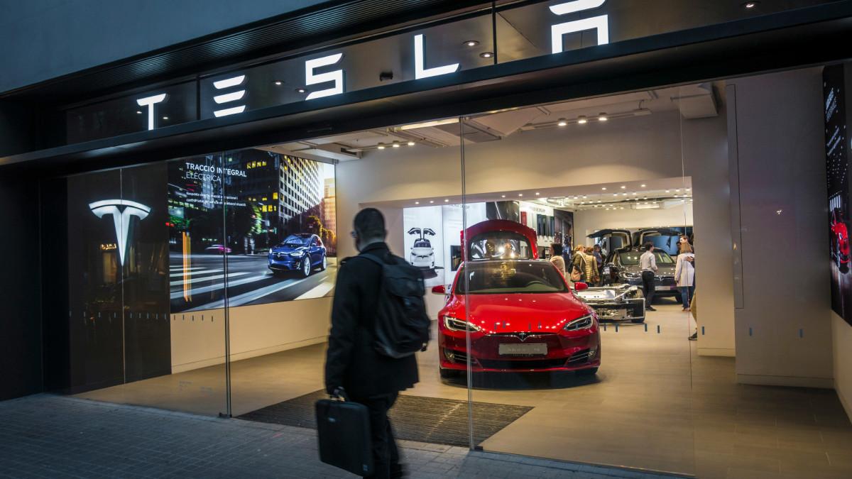 Tesla Falls as 2 Analysts Express Caution