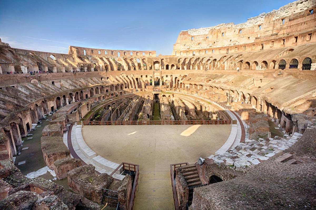 2 rome colosseum 2 Georgy Kuryatov : Shutterstoc