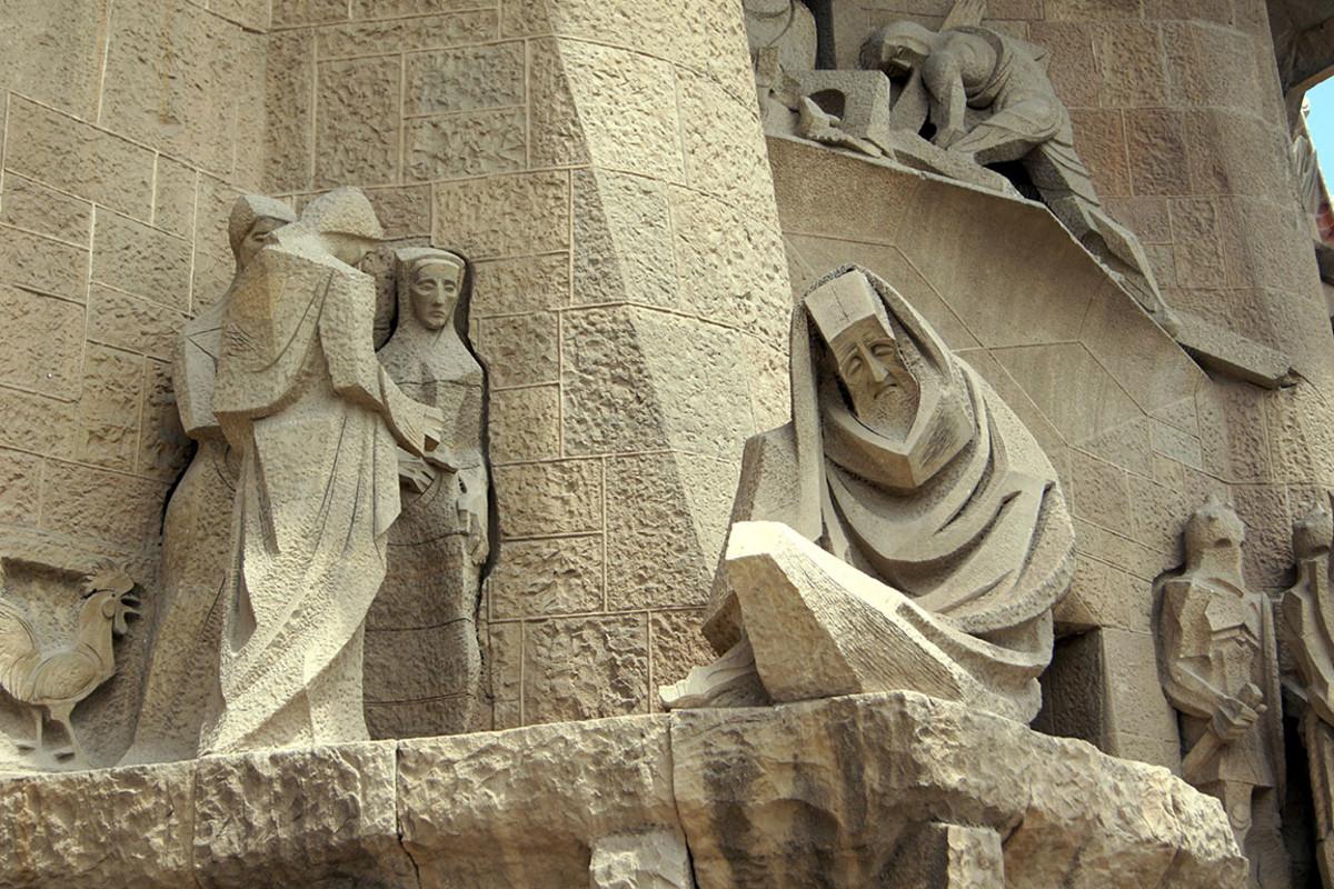 18 sagrada familia barcelona Anna Bogush : Shutterstock