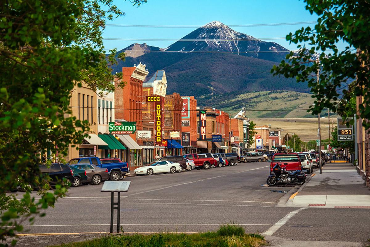 30 montana livingston Nick Fox : Shutterstock