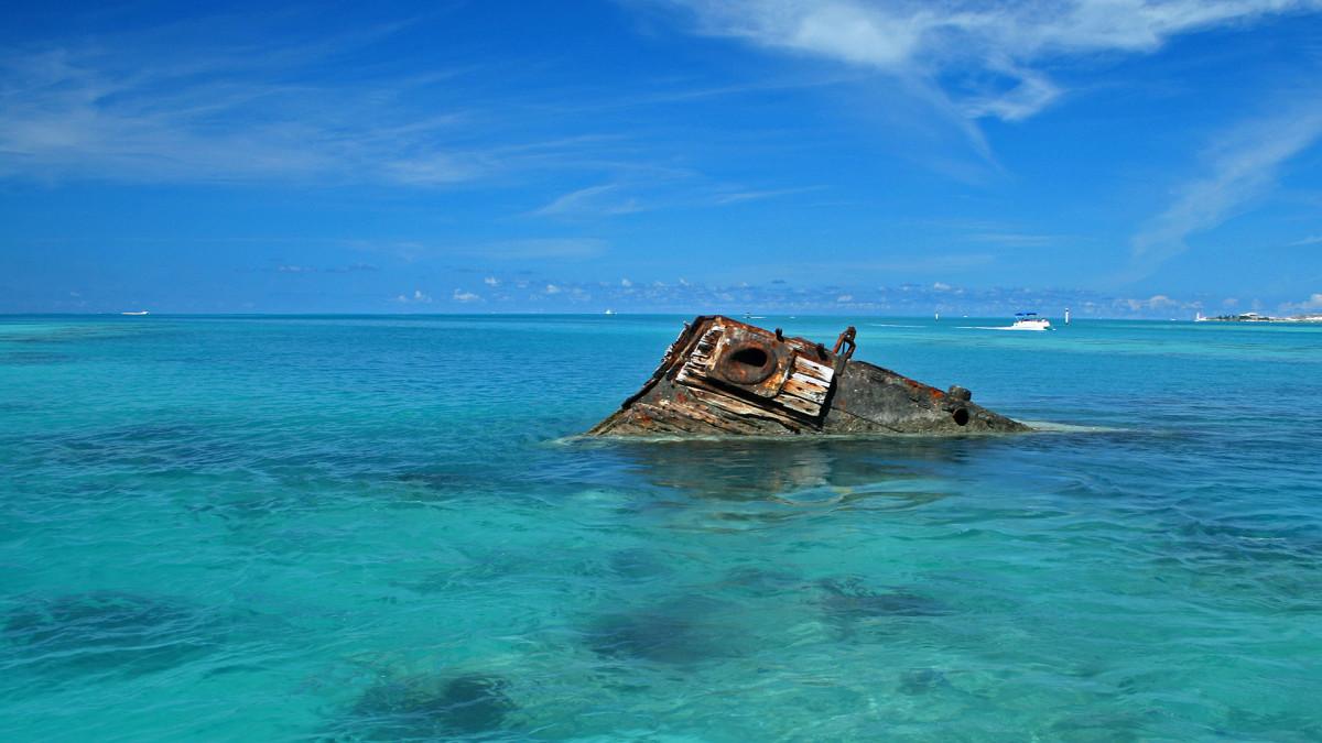 Bermuda Triangle, shipwreck