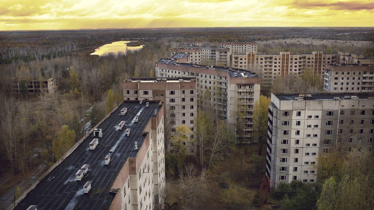 11 pripyat ukraine chernobyl sh