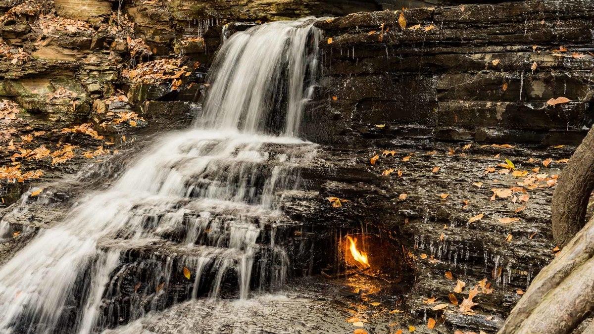 26 Eternal Flame Falls New York sh