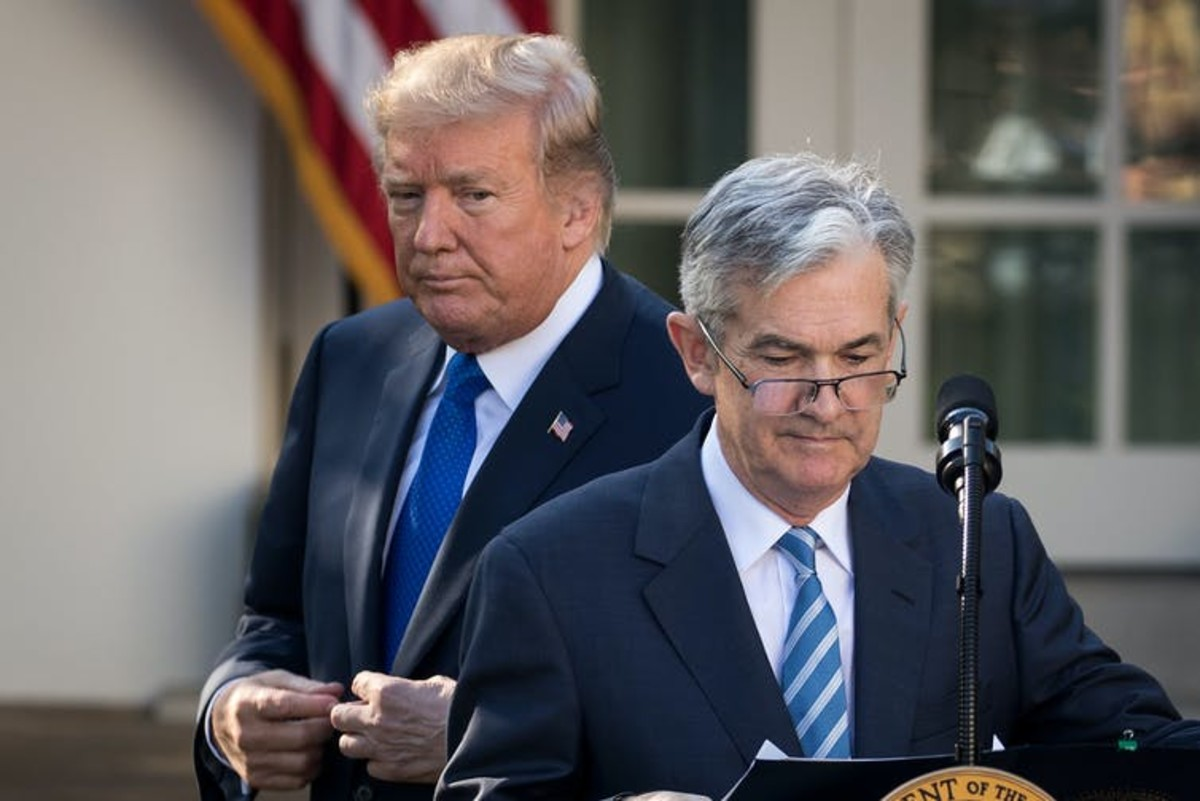 Trump slammed Fed Chair Jerome Powell repeatedly in 2019 over interest rate policy. Drew Angerer/Getty Images