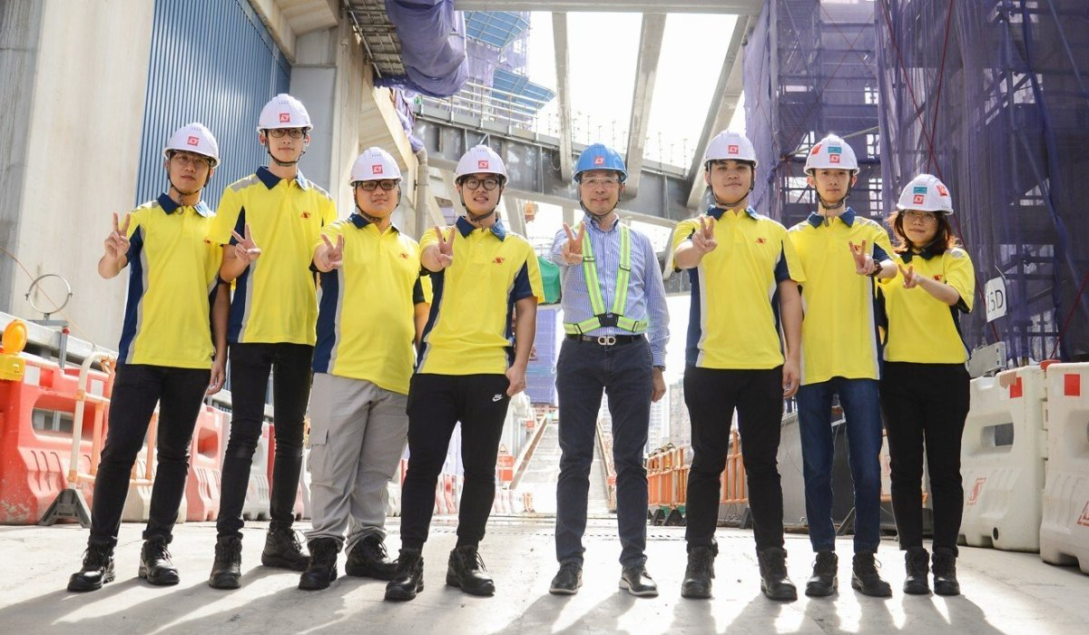Sanfield Building Contractors has accepted 50 fresh graduates for its apprenticeship scheme this year. Photo: Handout