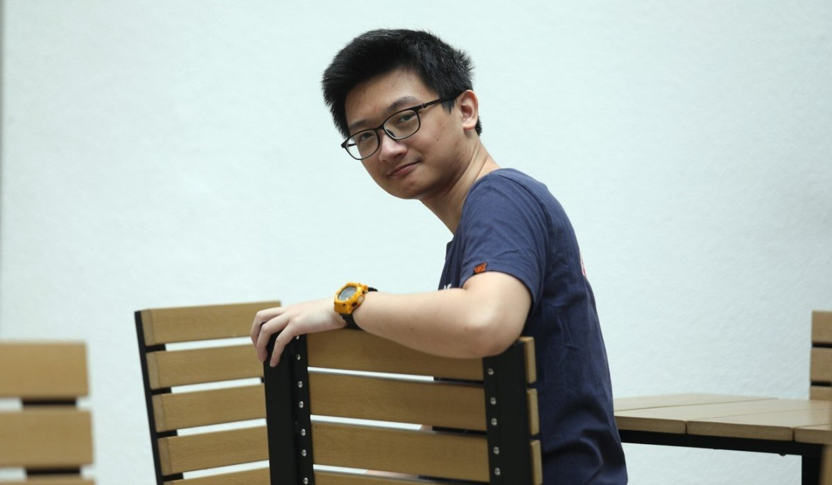 Daniel Cheung graduated from Hong Kong University of Science and Technology. Photo: Xiaomei Chen