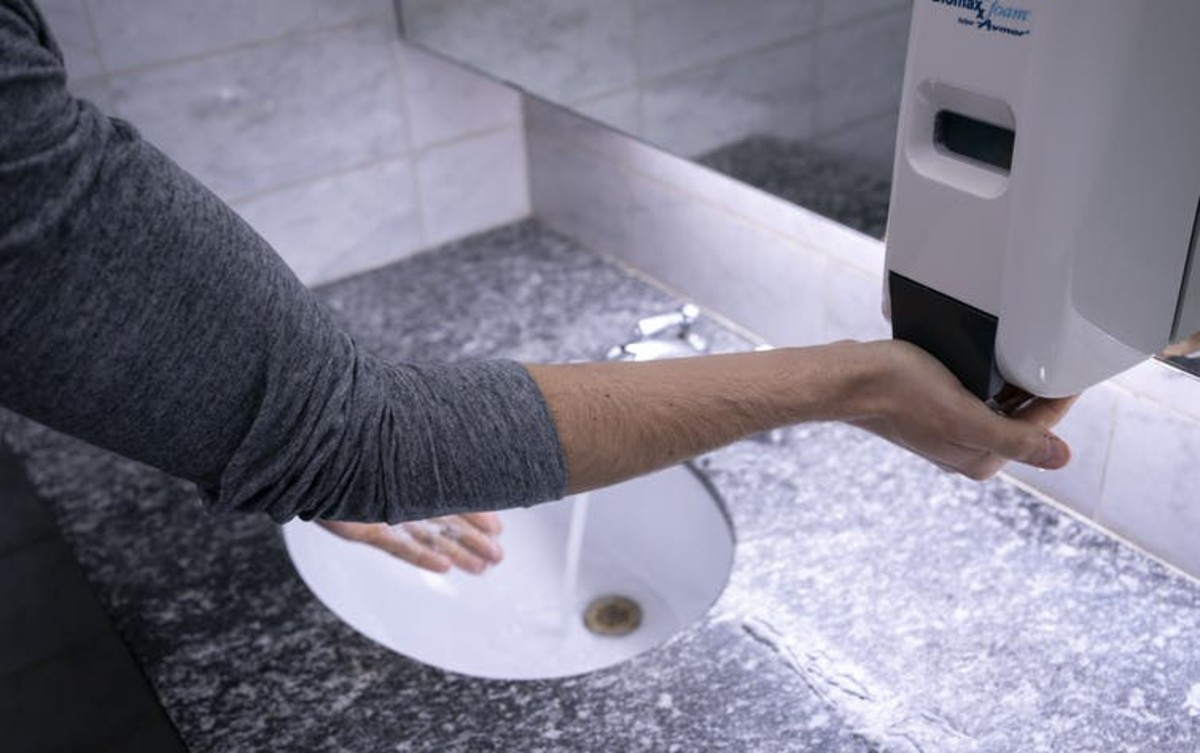 Handwashing is among the simple measures that can help contain COVID-19. THE CANADIAN PRESS/Paul Chiasson