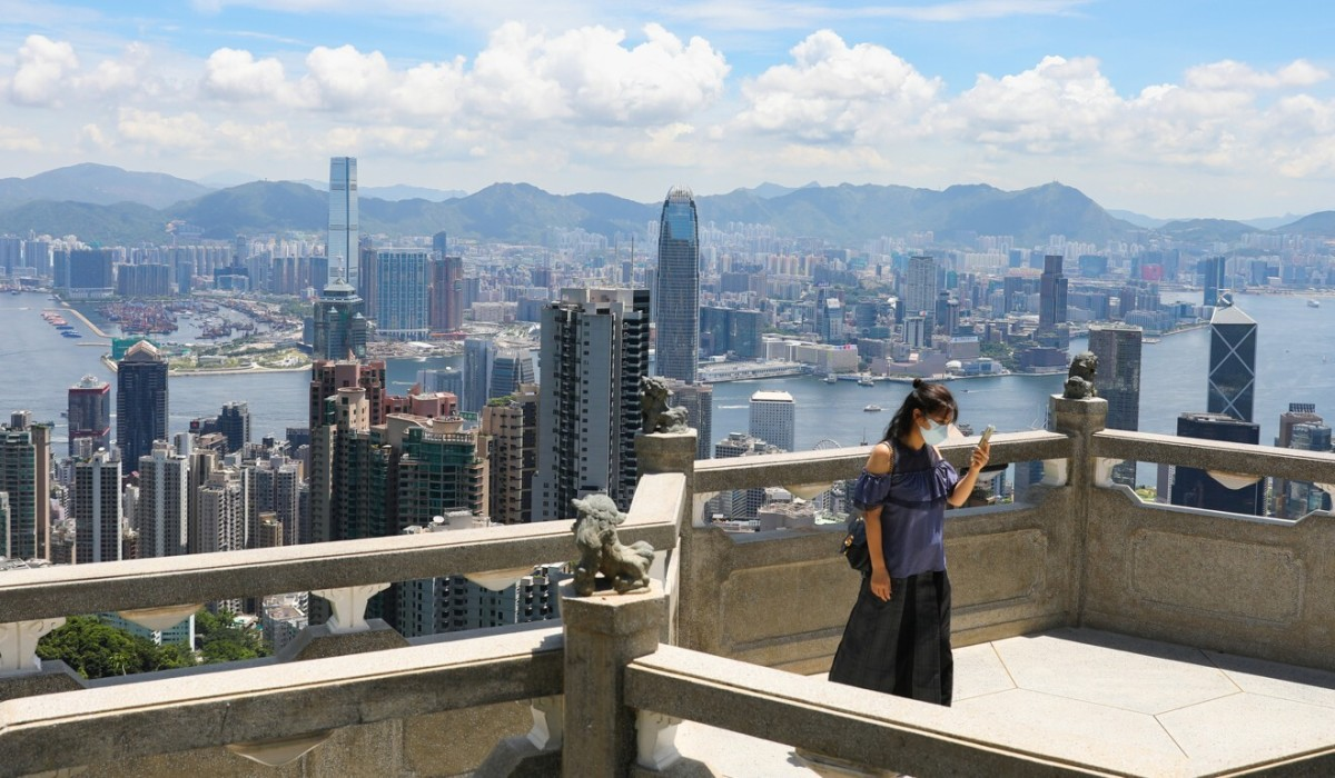 The Peak in Hong Kong, one of the city's tourism hotspots. Photo: Nora Tam