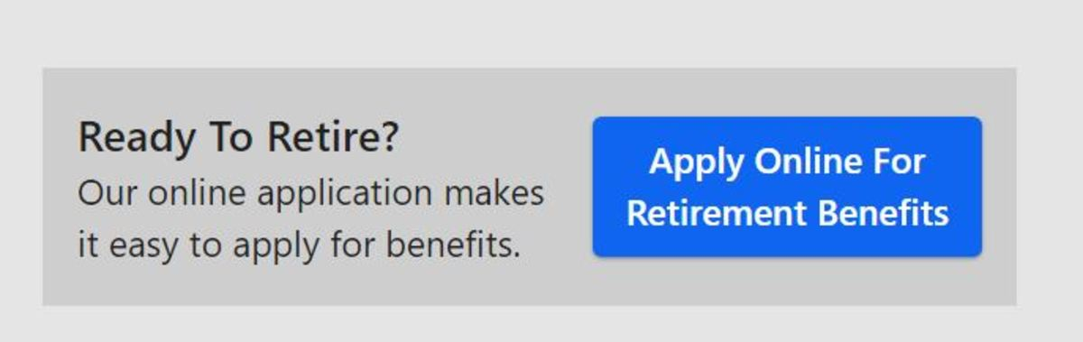 Apply online for Social Security retirement benefits