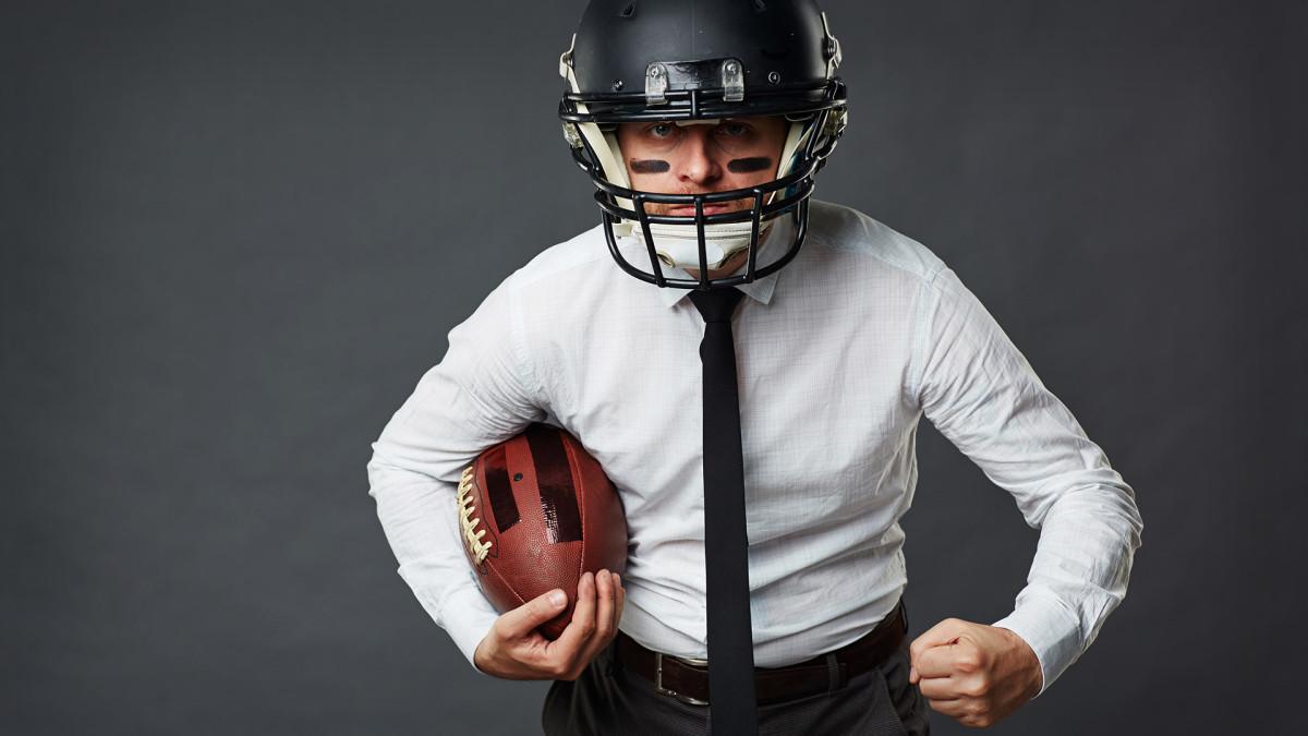 Man Suit Football Lead