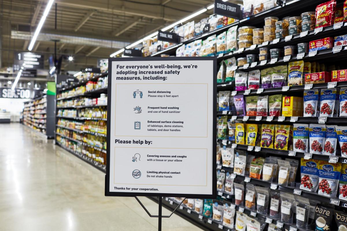 Amazon Fresh store in Woodland Hills, Calif.