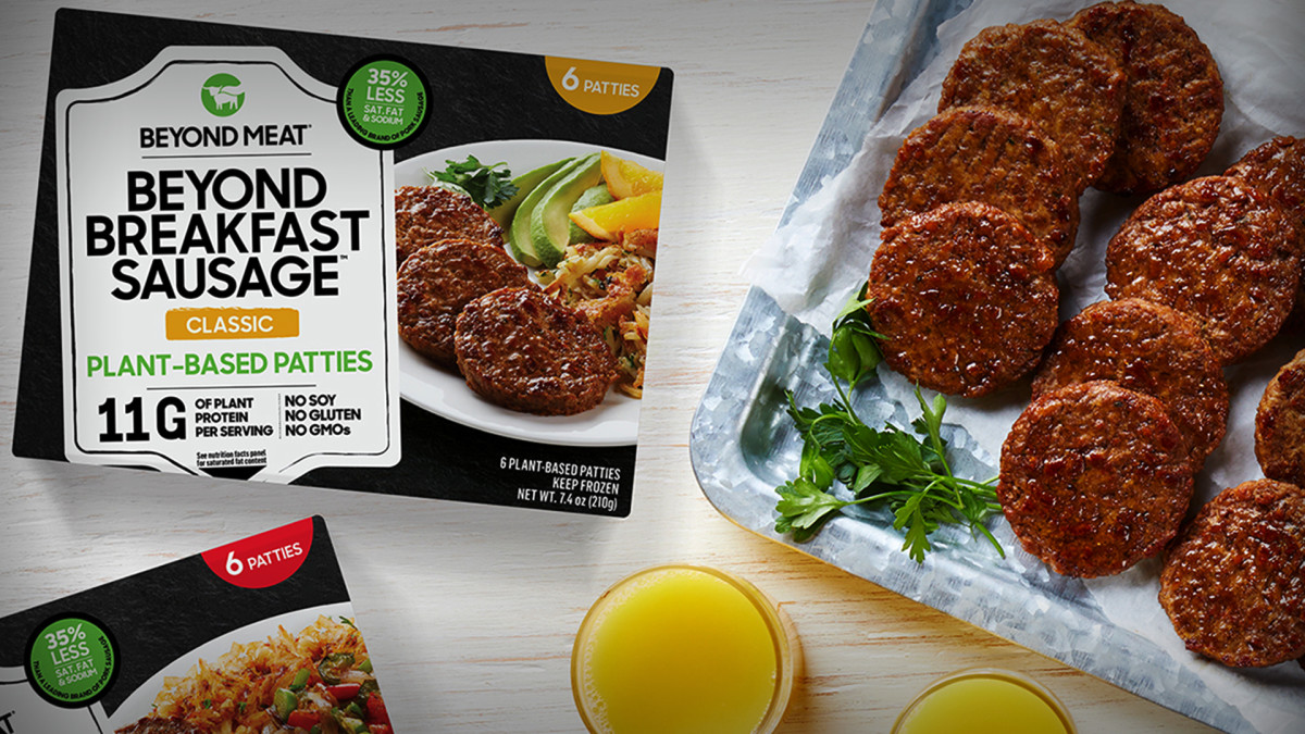 Beyond Meat Expands Breakfast-Sausage Distribution