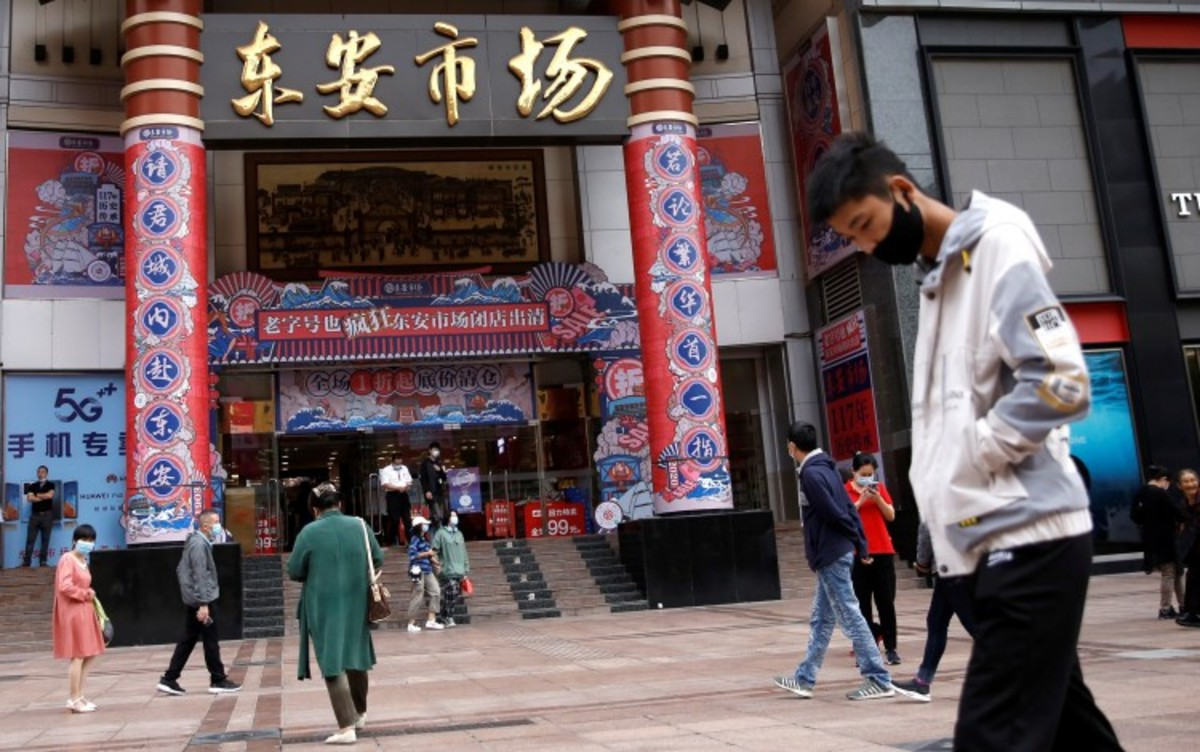China Leads Way As IMF Says Global Economic Recession 'less Severe' Than Previously Thought