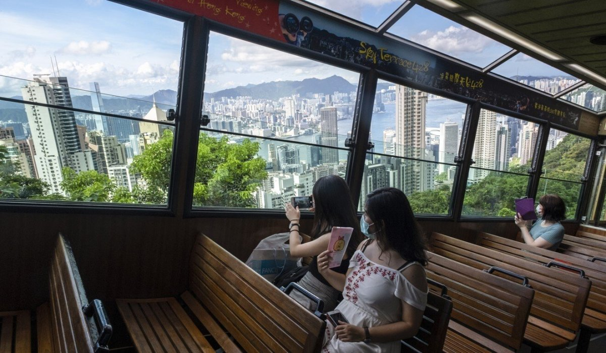 Hong Kong's tourism sector, crippled by the Covid-19 pandemic, is hoping for a shot in the arm with the creation of a travel bubble with Singapore. Photo: Sun Yeung