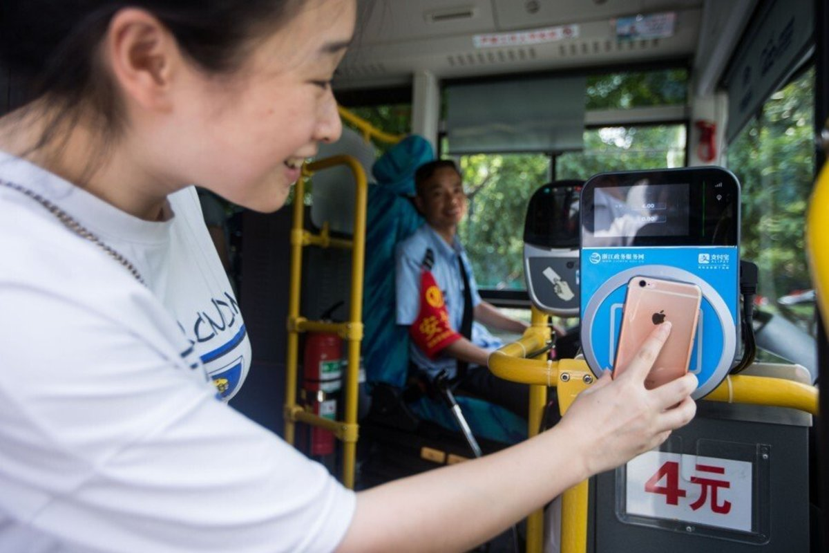 Ant Group is the operator of super-slick mobile payment app, Alipay. Photo: Xinhua