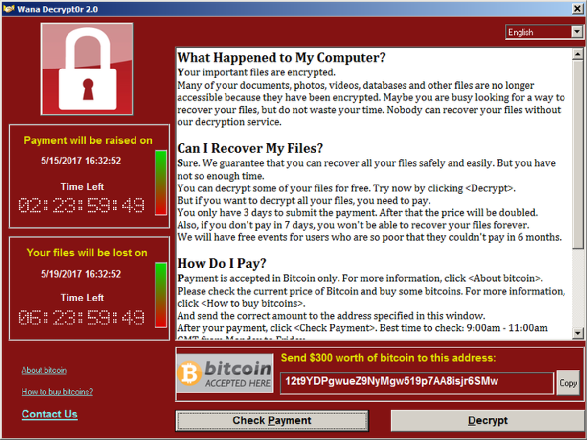 A typical ransomware attack seizes control of a victim's computer files and holds them for ransom. So5146/Wikimedia, CC BY-SA