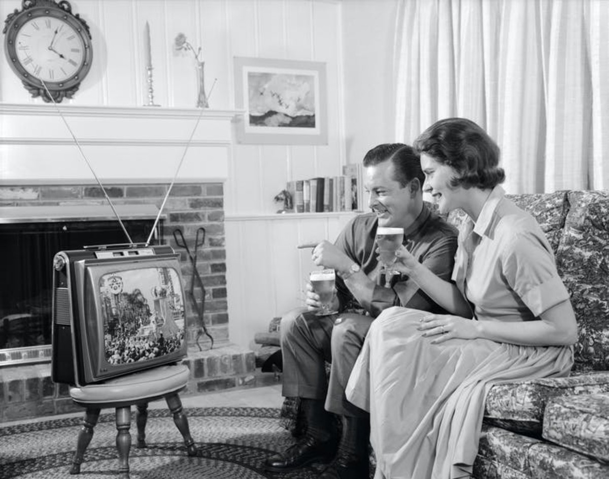 It wasn't perfect, but old media – like TV, newspapers and books – often exposed us to a wide variety of beliefs. H. Armstrong Roberts via Getty Images