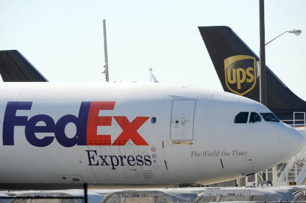 Companies like UPS are already gearing up to store and transport a vaccine. AP Photo/Erik S. Lesser