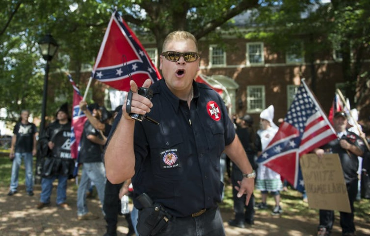 Parler has become a haven for overt white supremacists and anti-Semites. ANDREW CABALLERO-REYNOLDS/AFP via Getty Images