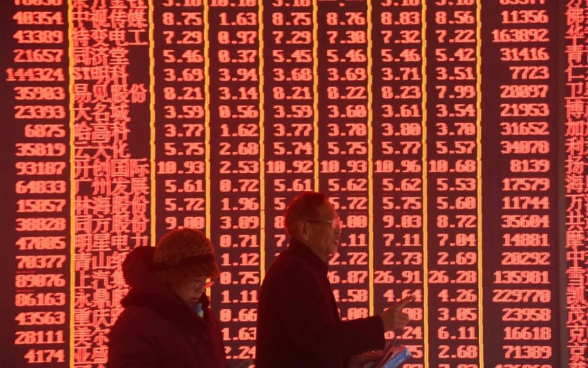 Buying Frenzy Sends Shanghai Gauge Of 50 Large Stocks To 12-year High As Traders Bet On Cyclical Stocks To Outshine Technology