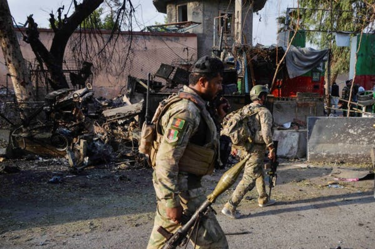 The Taliban's insurgency has destabilized Afghanistan for nearly 20 years. Norrullah Shirzada/AFP via Getty Images