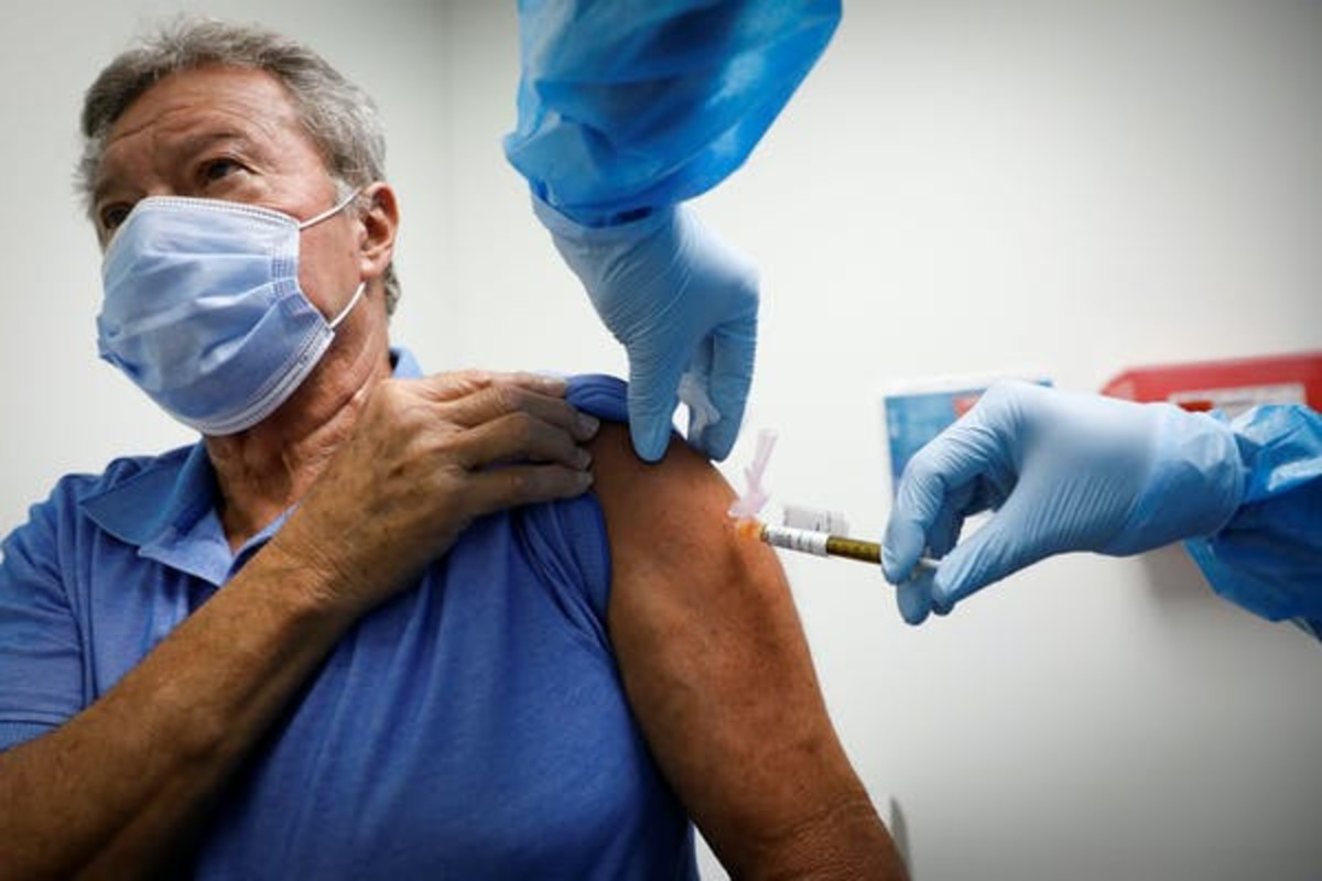 The vaccine has been tested predominantly in under-55s – so we need monitor how well it works in older people. vasilis asvestas/Shutterstock