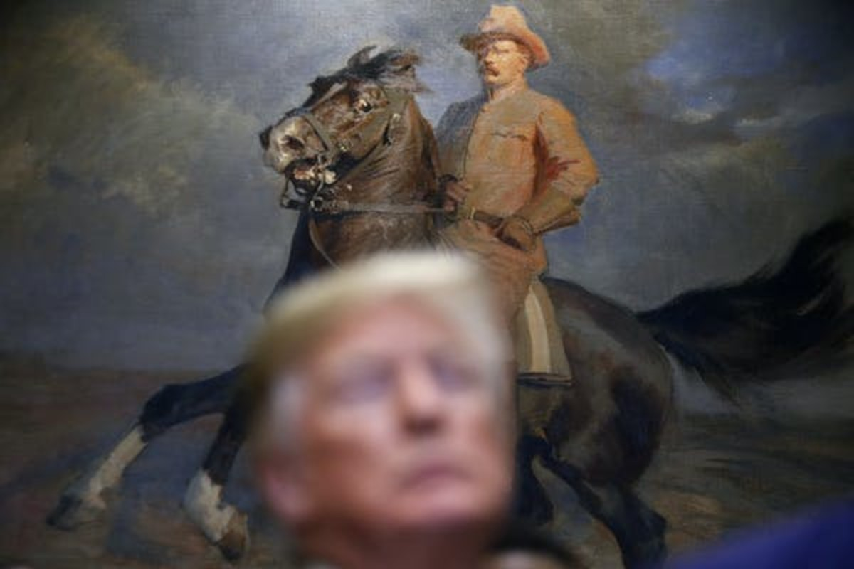 Teddy Roosevelt helped end the spoils system. AP Photo/Jacquelyn Martin