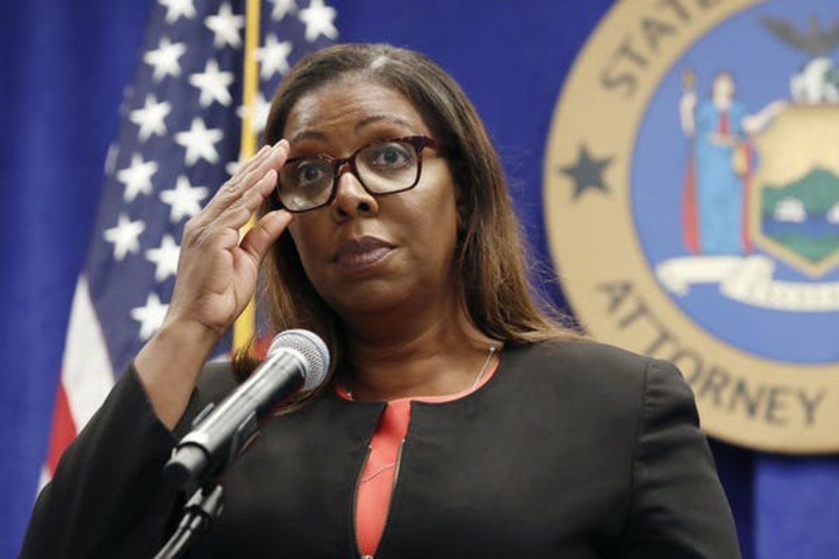 New York Attorney General Letitia James has sued the NRA. AP Photo/Kathy Willens
