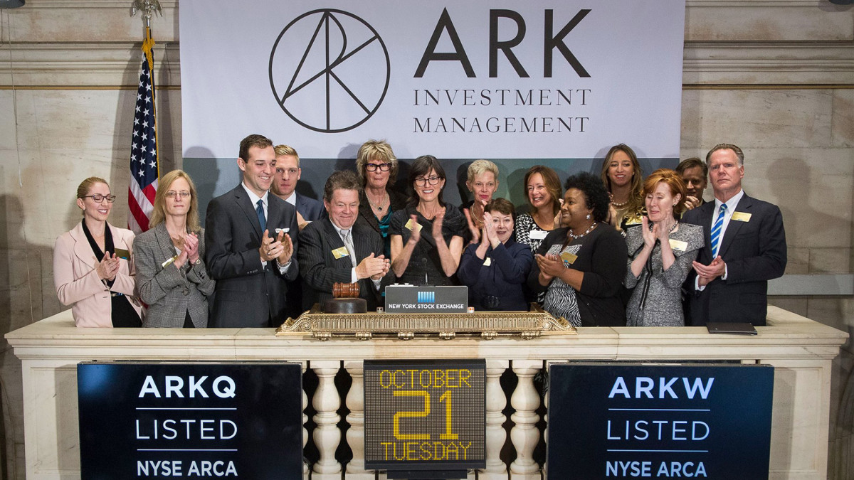 Ark Innovation Fund ETF Nears 2-Month Low As Tesla, Bitcoin Extend Slump