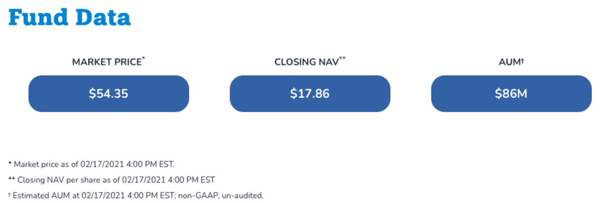 Osprey Bitcoin Trust (OBTC) Share Price