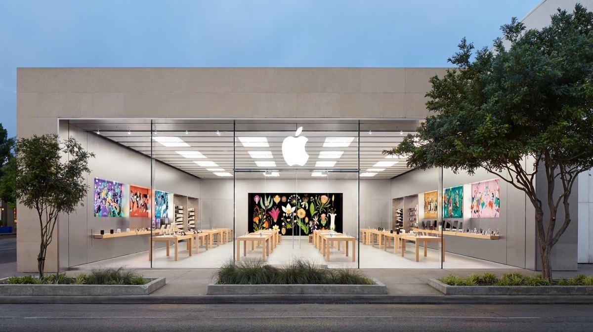 Apple store in Dallas, Texas.