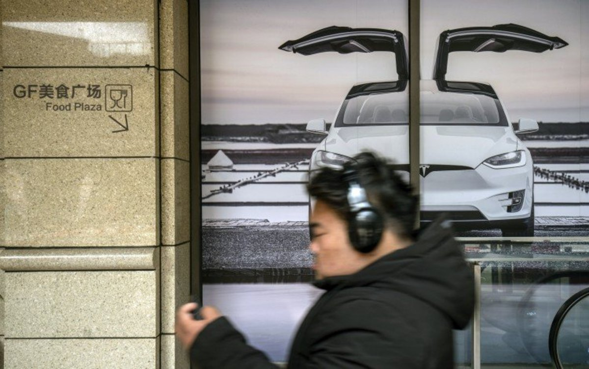 Tesla Keeps China's EV Competitors At Bay With A Threefold Jump In Deliveries Of Its Cut-price Model Y