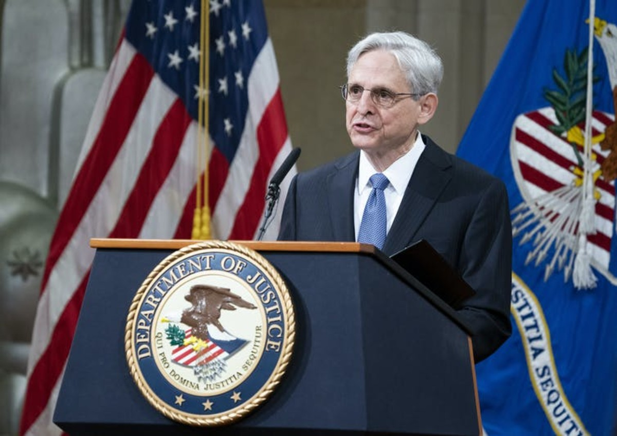 Attorney General Merrick Garland has decades of experience fighting right-wing extremism in the U.S. Kevin Dietsch/Pool via AP