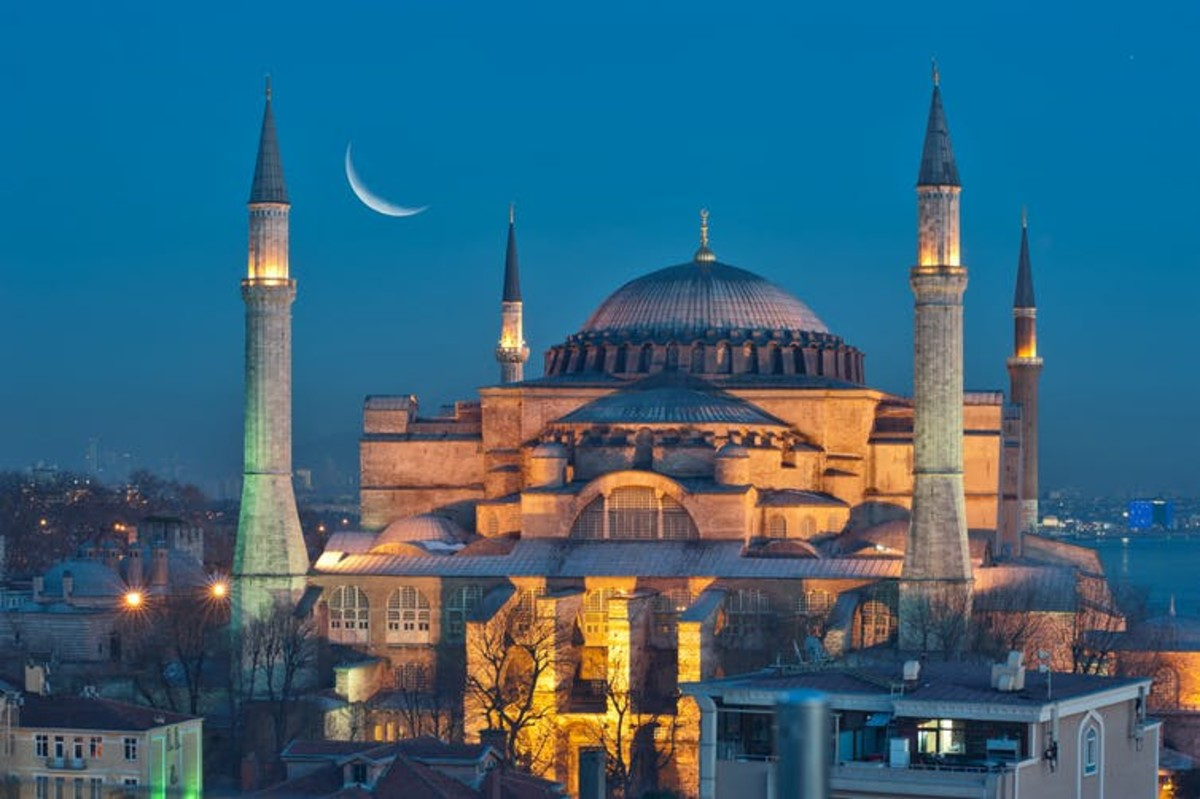 The Hagia Sofia stands as a testament to Byzantium's achievements. Salvator Barki/Getty Images