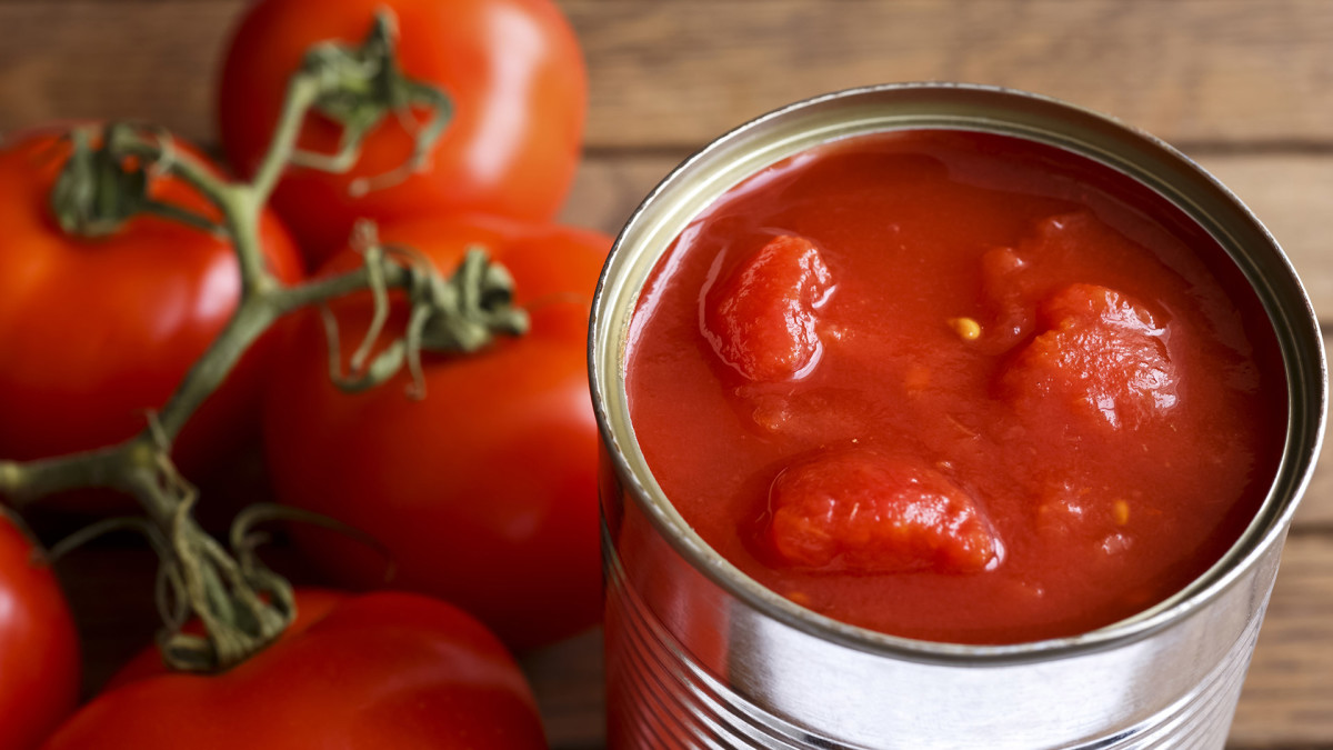 Canned Tomatoes Lead