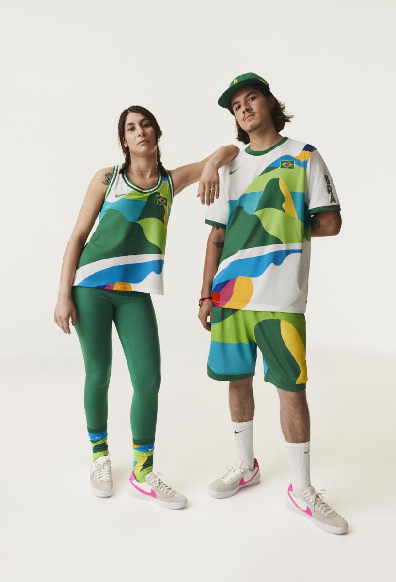 Nike's Brazil Skateboard Jersey