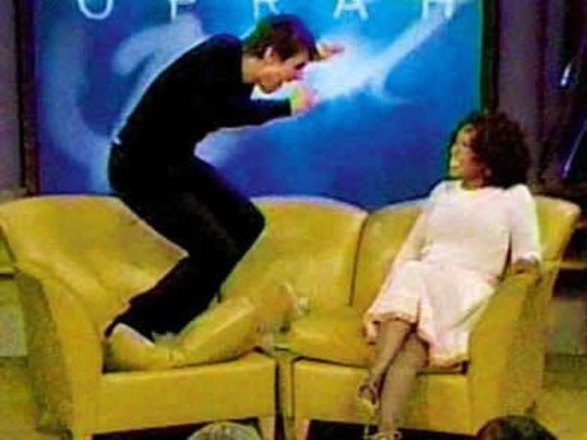 In 2005, Tom Cruise jumped on Oprah's couch. The moment became a cultural touchstone – and the image became a meme. Know Your Meme