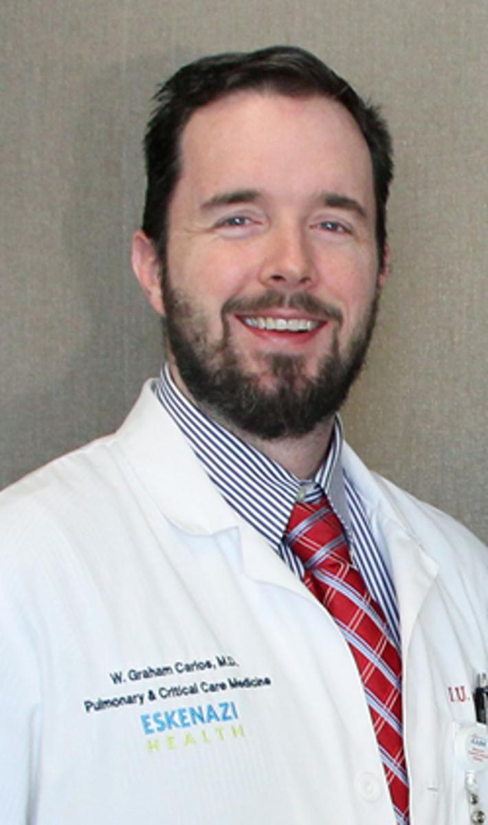 Dr. W. Graham Carlos. Eskenazi Health