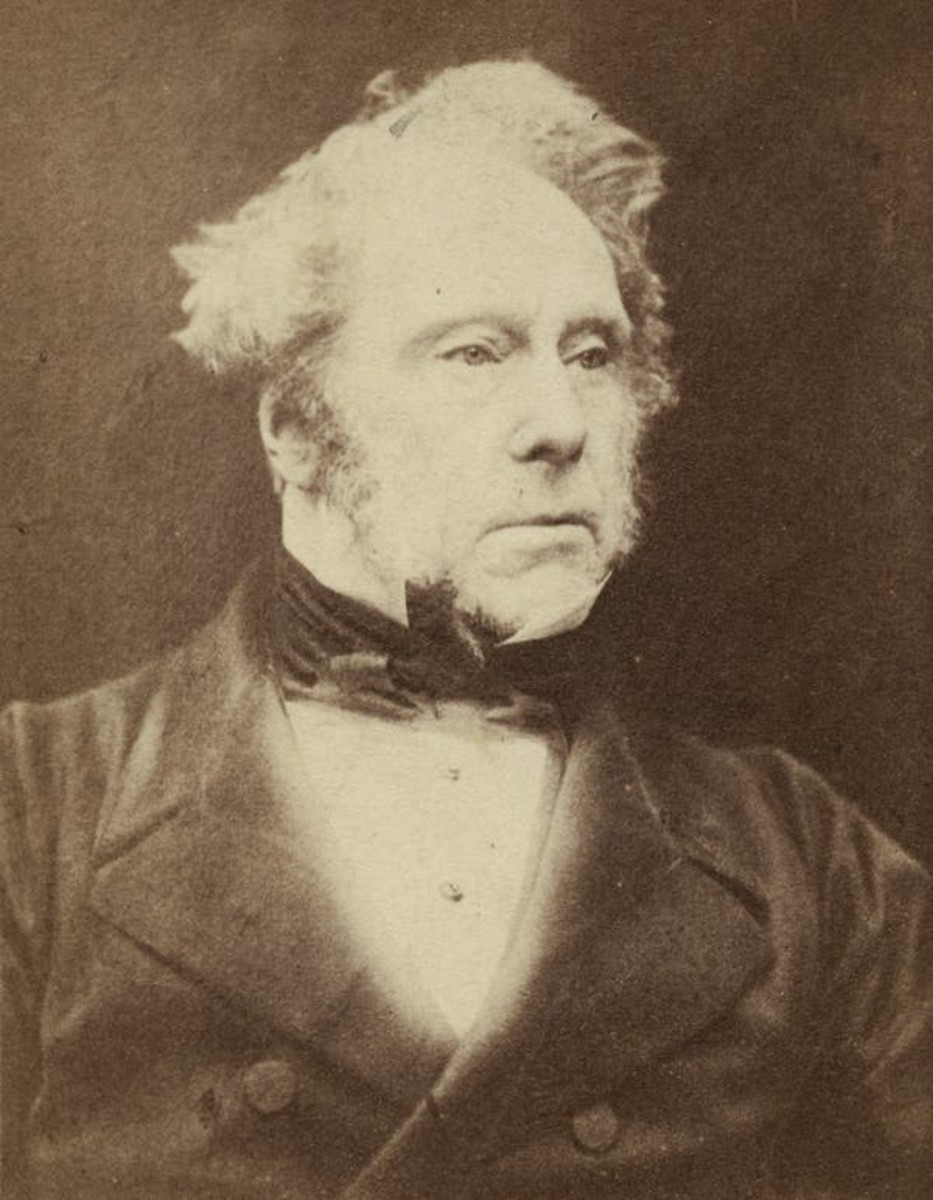 Henry John Temple III, Viscount Palmerston, c. 1857. Herbert Watkins