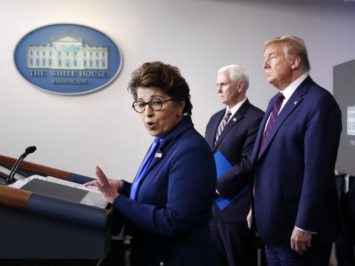 Jovita Carranza, administrator of the Small Business Administration, is responsible for ensuring her agency distributions hundreds of billions of dollars to small businesses. AP Photo/Alex Brandon