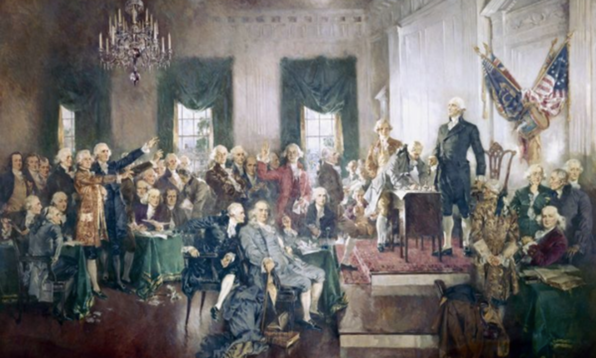 President Donald Trump recently attempted to explain the complex relationship between the federal government and the states, as outlined by the framers in 1787.
