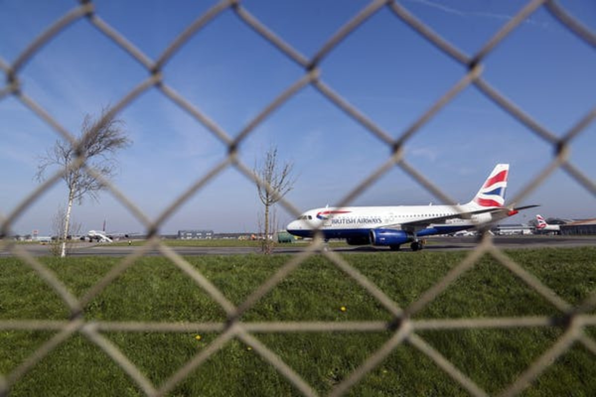 A grounded BA plane. Steve Parsons/PA Wire/PA Images