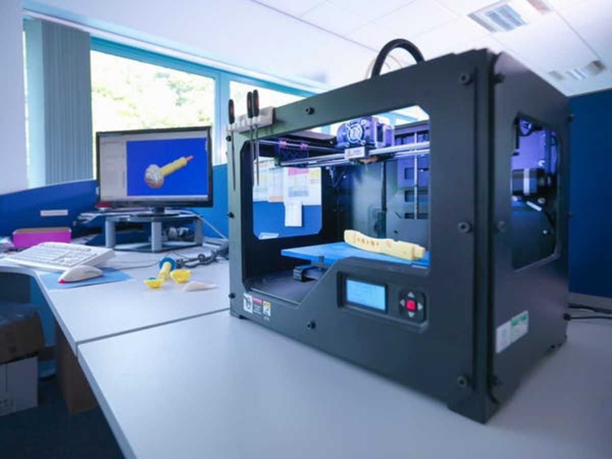 3D printers turn digital designs into toys, household items and even medical equipment. Monty Rakusen/Cultura via Getty Images